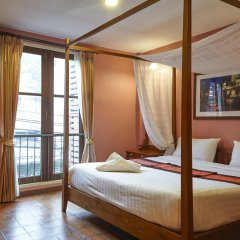 Отель Siamese Views Lodge Бангкок комната для гостей