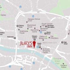 Отель Jurys Inn Glasgow Глазго спортивное сооружение