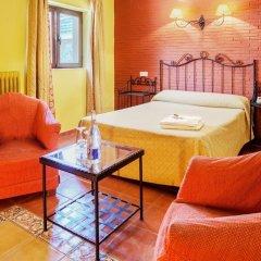 Отель Santa Cruz Испания, Гуэхар-Сьерра - отзывы, цены и фото номеров - забронировать отель Santa Cruz онлайн комната для гостей фото 5