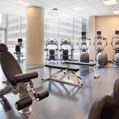 Отель Vancouver Marriott Pinnacle Downtown фитнесс-зал
