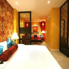 Shanghai Mansion Bangkok Hotel 4* Стандартный номер с различными типами кроватей фото 3