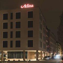 Отель Adina Apartment Hotel Nuremberg Германия, Нюрнберг - отзывы, цены и фото номеров - забронировать отель Adina Apartment Hotel Nuremberg онлайн вид на фасад
