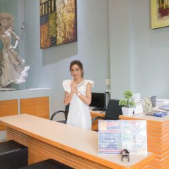 Отель Villa Cha Cha Rambuttri Бангкок интерьер отеля фото 2