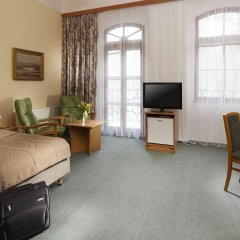 Отель Belvedere Spa House Hotel Чехия, Франтишкови-Лазне - отзывы, цены и фото номеров - забронировать отель Belvedere Spa House Hotel онлайн комната для гостей фото 4