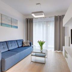 Апартаменты Lion Apartments -Bari Сопот комната для гостей фото 4