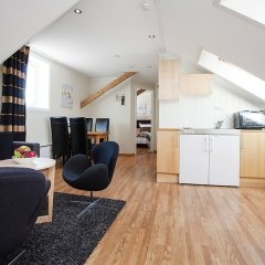 Апартаменты Kristiansand Apartments Кристиансанд комната для гостей