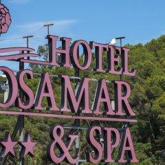 Отель Rosamar & Spa Испания, Льорет-де-Мар - 1 отзыв об отеле, цены и фото номеров - забронировать отель Rosamar & Spa онлайн приотельная территория