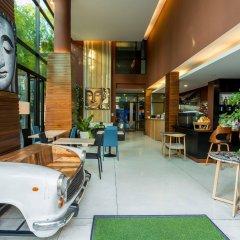 Moxi Boutique Hotel интерьер отеля
