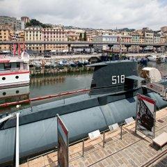 Отель Acquario Genova Suite Италия, Генуя - отзывы, цены и фото номеров - забронировать отель Acquario Genova Suite онлайн приотельная территория