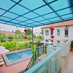 Отель Hoi An Red Frangipani Villa балкон