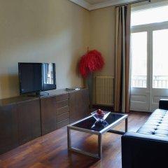 Апартаменты Barcelona Apartment Val комната для гостей