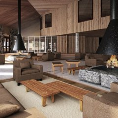 Valle Corralco Hotel & Spa интерьер отеля