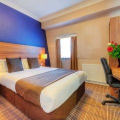 Отель Comfort Inn St Pancras - Kings Cross комната для гостей