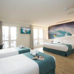 Отель Casual de las Olas San Sebastian Испания, Сан-Себастьян - отзывы, цены и фото номеров - забронировать отель Casual de las Olas San Sebastian онлайн комната для гостей фото 2