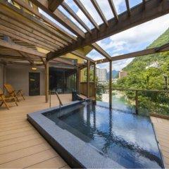 Hotel Shirakawa Yunokura Никко бассейн фото 2