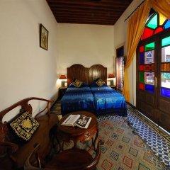 Отель Riad dar Chrifa Марокко, Фес - отзывы, цены и фото номеров - забронировать отель Riad dar Chrifa онлайн комната для гостей фото 5