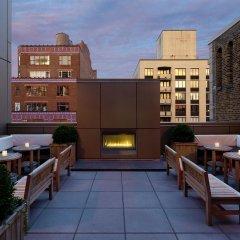 Gansevoort Park Hotel NYC балкон