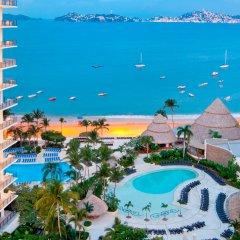 Отель Dreams Acapulco Resort and Spa - All Inclusive пляж
