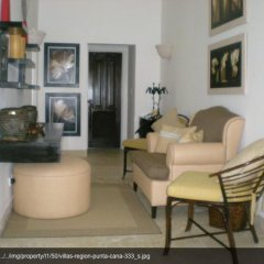 Отель Villa With 3 Bedrooms in Punta Cana, With Private Pool, Furnished Gard комната для гостей