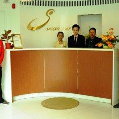 Отель Sathorn Grace Serviced Residence Таиланд, Бангкок - отзывы, цены и фото номеров - забронировать отель Sathorn Grace Serviced Residence онлайн интерьер отеля фото 3