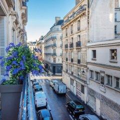 Отель WS Hôtel de Ville - Musée Pompidou Франция, Париж - отзывы, цены и фото номеров - забронировать отель WS Hôtel de Ville - Musée Pompidou онлайн балкон