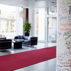 Отель Scandic Jacob Gade Дания, Вайле - отзывы, цены и фото номеров - забронировать отель Scandic Jacob Gade онлайн интерьер отеля