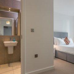 Отель 2 Bedroom Flat With Free Wifi ванная