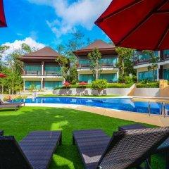 Курортный отель Crystal Wild Panwa Phuket бассейн