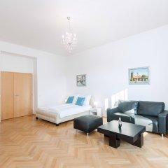 Апартаменты Slovansky Dum Boutique Apartments Прага комната для гостей фото 2