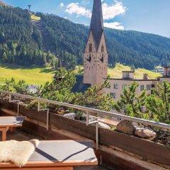 Отель Morosani Posthotel Davos Швейцария, Давос - отзывы, цены и фото номеров - забронировать отель Morosani Posthotel Davos онлайн балкон