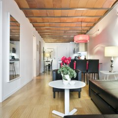 Отель Aspasios Las Ramblas Apartments Испания, Барселона - отзывы, цены и фото номеров - забронировать отель Aspasios Las Ramblas Apartments онлайн комната для гостей фото 4