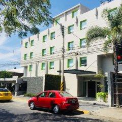 Hotel Arboledas Expo парковка