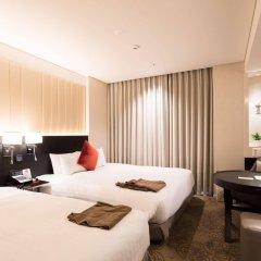 Отель Solaria Nishitetsu Hotel Seoul Myeongdong Южная Корея, Сеул - 1 отзыв об отеле, цены и фото номеров - забронировать отель Solaria Nishitetsu Hotel Seoul Myeongdong онлайн комната для гостей фото 2