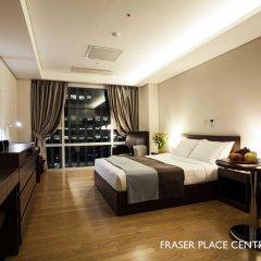 Отель Fraser Place Central Seoul Южная Корея, Сеул - отзывы, цены и фото номеров - забронировать отель Fraser Place Central Seoul онлайн комната для гостей фото 4
