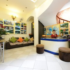 Отель Madam Moon Hotel Вьетнам, Ханой - отзывы, цены и фото номеров - забронировать отель Madam Moon Hotel онлайн интерьер отеля фото 3