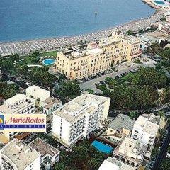 Отель Aquamare Hotel Греция, Родос - отзывы, цены и фото номеров - забронировать отель Aquamare Hotel онлайн пляж фото 2
