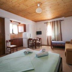 Отель Villa Abedini Албания, Ксамил - отзывы, цены и фото номеров - забронировать отель Villa Abedini онлайн комната для гостей фото 5