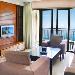 Отель Grand Metropark Bay Hotel Sanya Китай, Санья - отзывы, цены и фото номеров - забронировать отель Grand Metropark Bay Hotel Sanya онлайн комната для гостей фото 3