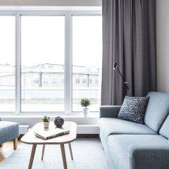 Апартаменты Biz Apartment Hammarby Sjostad Йоханнесхов комната для гостей фото 3