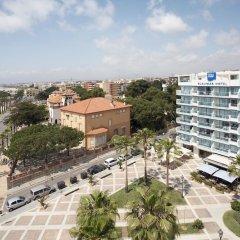 Отель Blaumar Hotel Salou Испания, Салоу - 7 отзывов об отеле, цены и фото номеров - забронировать отель Blaumar Hotel Salou онлайн пляж
