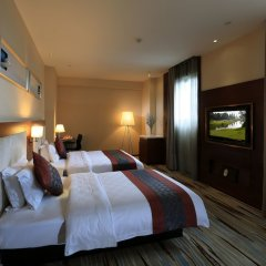 Отель Xiamen Rushi Hotel Exhibition Center Китай, Сямынь - отзывы, цены и фото номеров - забронировать отель Xiamen Rushi Hotel Exhibition Center онлайн комната для гостей фото 2