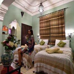 Отель Dar Asdika Марокко, Марракеш - отзывы, цены и фото номеров - забронировать отель Dar Asdika онлайн комната для гостей фото 4