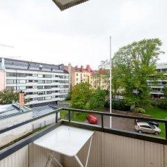 Апартаменты Aurora Apartments Pursimiehenkatu 25 балкон