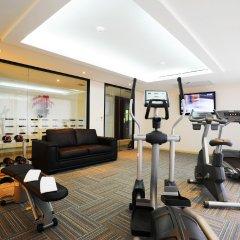 Отель Baan K Residence Managed By Bliston Бангкок фитнесс-зал