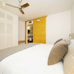 Отель Apartamentos Ses Eufabietes Испания, Форментера - отзывы, цены и фото номеров - забронировать отель Apartamentos Ses Eufabietes онлайн комната для гостей фото 5