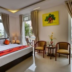 Отель Han Huyen Homestay Хойан комната для гостей фото 3