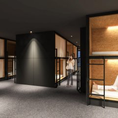 Отель Hatago Tenjin Тэндзин интерьер отеля