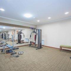 Гостиница The Plaza Almaty фитнесс-зал