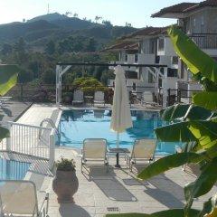 Отель Ampelia Hotel Греция, Ханиотис - отзывы, цены и фото номеров - забронировать отель Ampelia Hotel онлайн бассейн