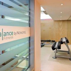 Отель Novotel Zurich City West фитнесс-зал